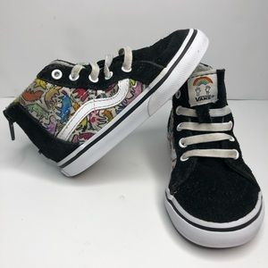 VANS Hi Top Zip Dallas Clayton Unicorns Shoes Sz 7